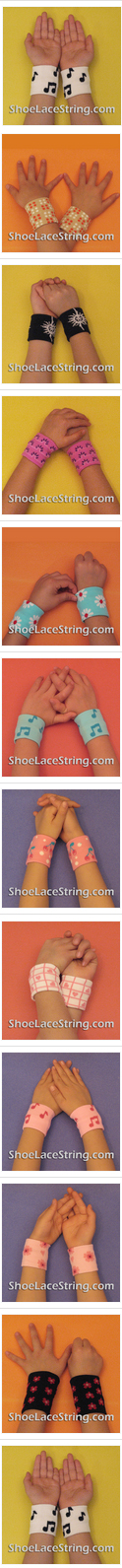 shoe lace shoe string kid's wrist band for party