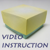 how to origami box - box with lid - video instruction