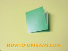 how to origami candy box instruction 11