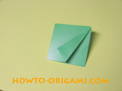 how to origami candy box instruction 12