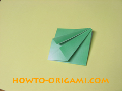 how to origami candy box instruction 13