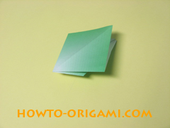 how to origami candy box instruction 14