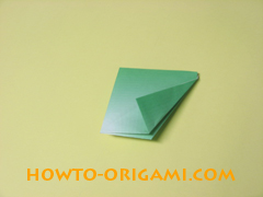 how to origami candy box instruction 15