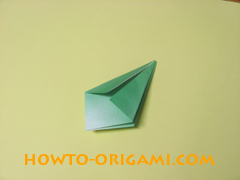 how to origami candy box instruction 16