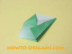 how to origami candy box instruction 17