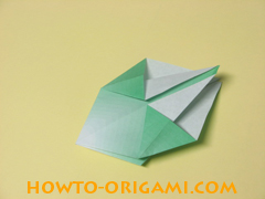 how to origami candy box instruction 18