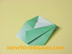 how to origami candy box instruction 20