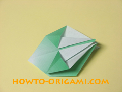 how to origami candy box instruction 21