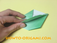 how to origami candy box instruction 22