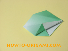 how to origami candy box instruction 24