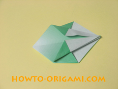 how to origami candy box instruction 25