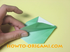 how to origami candy box instruction 26