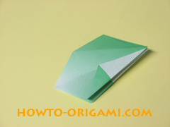 how to origami candy box instruction 27
