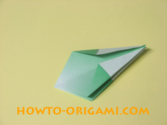 how to origami candy box instruction 28