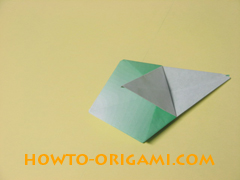 how to origami candy box instruction 31