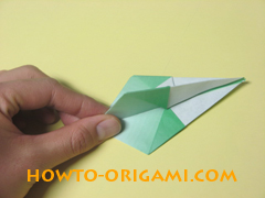 how to origami candy box instruction 32
