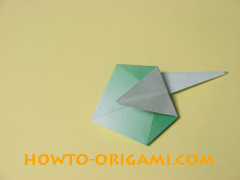 how to origami candy box instruction 33