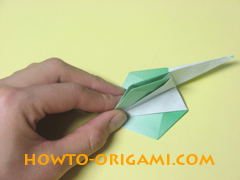 how to origami candy box instruction 34