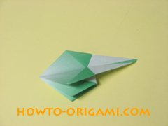 how to origami candy box instruction 35