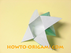 how to origami candy box instruction 37