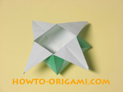 how to origami candy box instruction 38