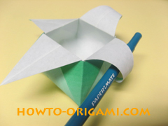 how to origami candy box instruction 39