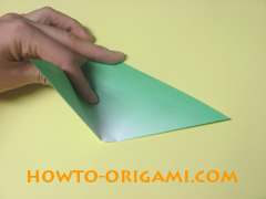 how to origami candy box instruction 4