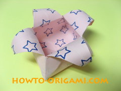 how to origami candy box instruction 40