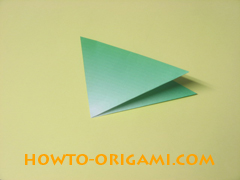 how to origami candy box  instruction 5