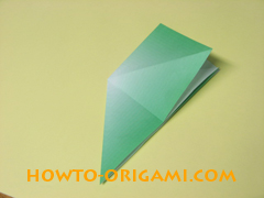 how to origami candy box instruction 7