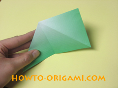 how to origami candy box instruction 8