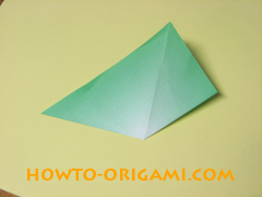 how to origami candy box instruction 9