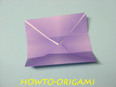how to origami square box instruction 11