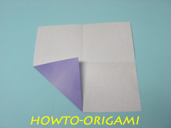 how to origami square box instruction 6