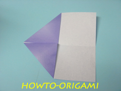 how to origami square box instruction 7