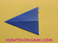 airplane origami (Simple airplane origami) - How to make a simple airplane origami instruction10