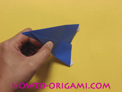 airplane origami (Simple airplane origami) - How to make a simple airplane origami instruction15