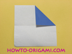 airplane origami (Simple airplane origami) - How to make a simple airplane origami instruction4