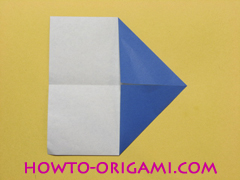 airplane origami (Simple airplane origami) - How to make a simple airplane origami instruction5
