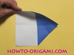 airplane origami (Simple airplane origami) - How to make a simple airplane origami instruction6