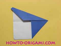 airplane origami (Simple airplane origami) - How to make a simple airplane origami instruction7