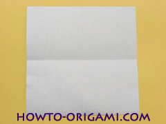 Airplane with round ended nose origami instruction 3 - How to make airplane origami instructions for kids