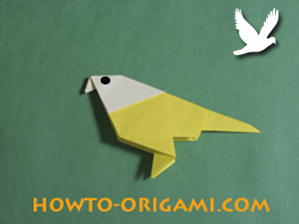 How To Origami Bird Easy Instruction At