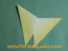 how to origami butterfly instruction 10 - easy origami for kid