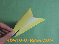 how to origami butterfly instruction 11 - easy origami for kid