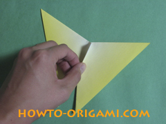 hhow to origami butterfly instruction 13 - easy origami for kid