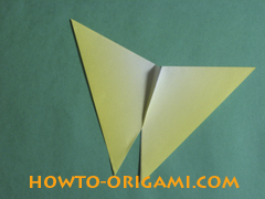 how to origami butterfly instruction 14 - easy origami for kid