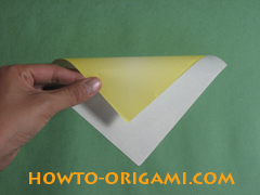 how to origami butterfly instruction 1 - easy origami for kid