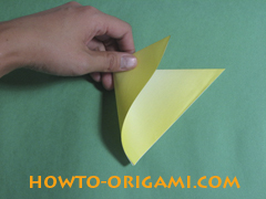 how to origami butterfly instruction 3 - easy origami for kid