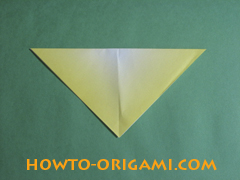 how to origami butterfly instruction 5 - easy origami for kid
